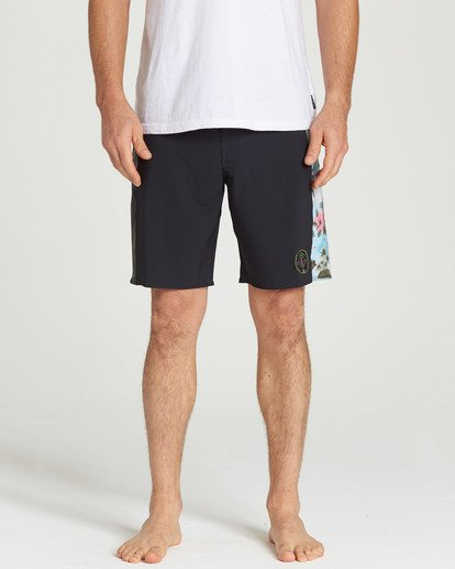 4 D Bah Pro Boardshort Black M121TBSP Billabong