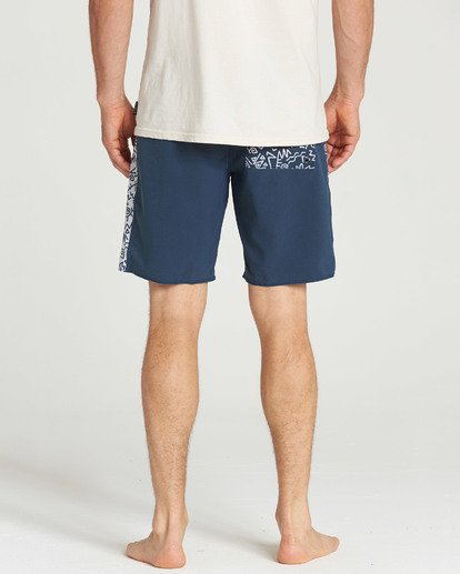 5 D Bah Pro Boardshort Blue M121TBSP Billabong