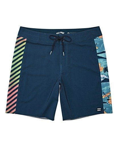 "0 D Bah Pro Boardshort 19"" Blue M1221BSP Billabong"