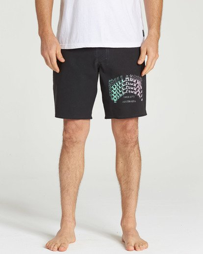 4 Warp Pro Boardshorts Black M122TBPL Billabong