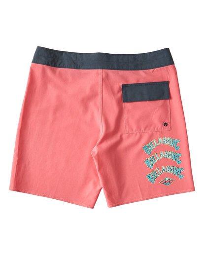 1 Warp Pro Boardshorts Pink M122UBPL Billabong