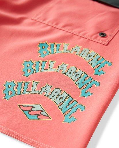 6 Warp Pro Boardshorts Pink M122UBPL Billabong