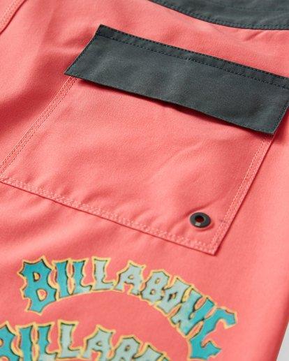 7 Warp Pro Boardshorts Pink M122UBPL Billabong