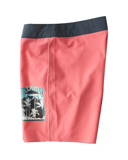 2 Warp Pro Boardshorts Pink M122UBPL Billabong