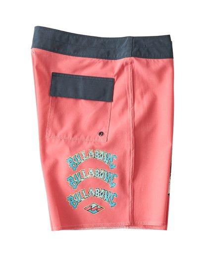 3 Warp Pro Boardshorts Pink M122UBPL Billabong