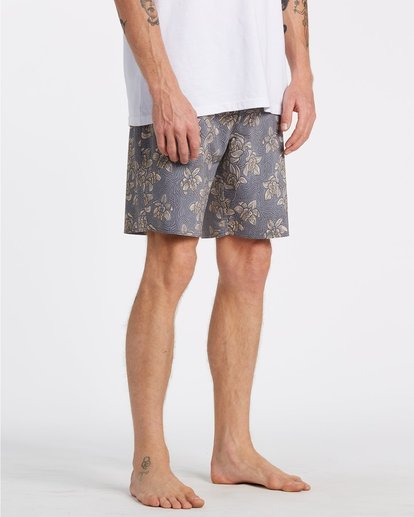 6 Sundays Down Under Boardshorts Brown M1231BSE Billabong