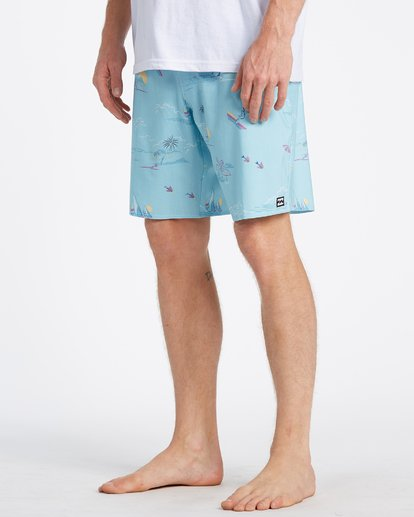 3 Sundays Pro Boardshorts Blue M1231BSU Billabong