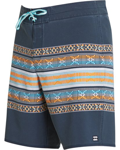 1 Sundays X Stripe Boardshorts Grey M123QBSS Billabong