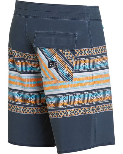 2 Sundays X Stripe Boardshorts Grey M123QBSS Billabong