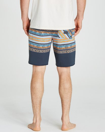 4 Sundays X Stripe Boardshorts Grey M123QBSS Billabong