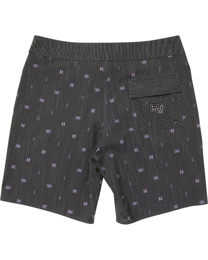 1 Sundays X Mark Printed Performance Boardshorts Grey M123SBSM Billabong