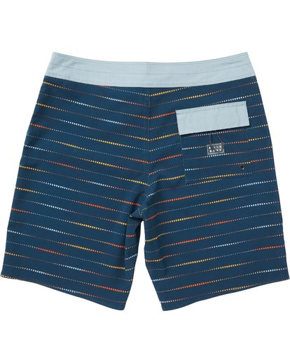 1 Sundays X Mark Printed Performance Boardshorts Blue M123SBSM Billabong