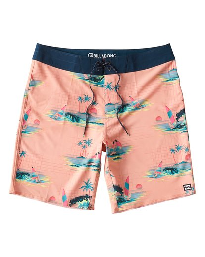 0 Sundays Pro Boardshorts Green M123VBSU Billabong