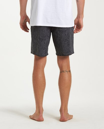 8 Sundays Pro Boardshorts Black M123VBSU Billabong