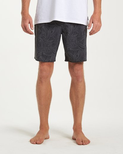 6 Sundays Pro Boardshorts Black M123VBSU Billabong