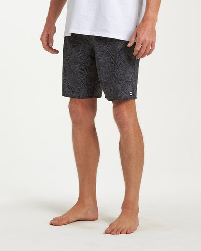 7 Sundays Pro Boardshorts Black M123VBSU Billabong