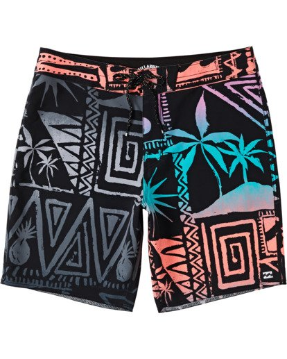 "0 Sundays Interchange Pro Boardshort 19"" Red M1241BSI Billabong"