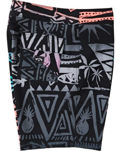 "2 Sundays Interchange Pro Boardshort 19"" Red M1241BSI Billabong"