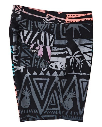 "5 Sundays Interchange Pro Boardshorts 19"" Red M1241BSI Billabong"