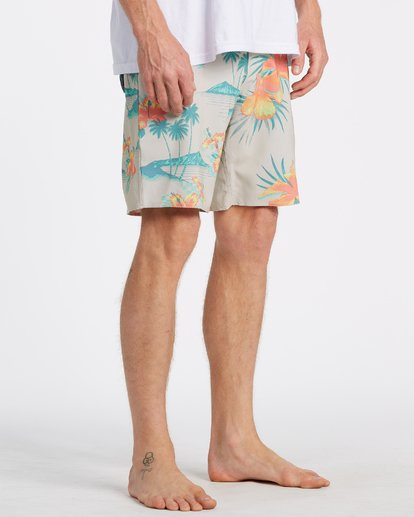 4 Sundays Interchange Pro Boardshorts Beige M1241BSI Billabong