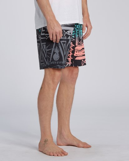 "7 Sundays Interchange Pro Boardshorts 19"" Red M1241BSI Billabong"