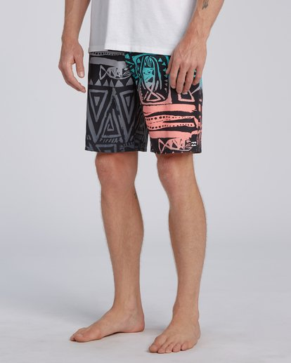 "8 Sundays Interchange Pro Boardshorts 19"" Red M1241BSI Billabong"