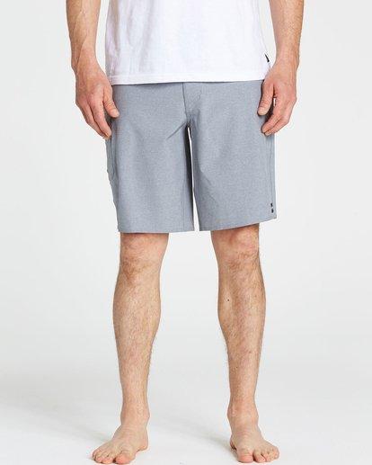 3 All Day X Boardshorts Grey M124NBAL Billabong