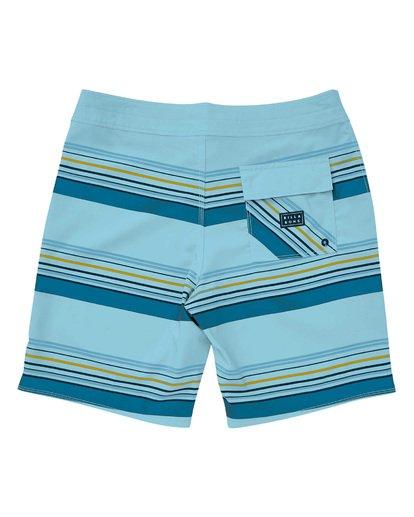 1 Sundays Stripe Pro Boardshorts Blue M124TBSS Billabong