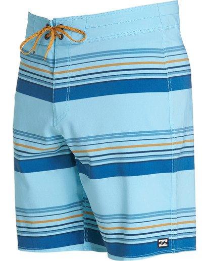 2 Sundays Stripe Pro Boardshorts Blue M124TBSS Billabong