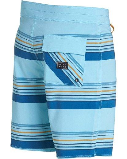 3 Sundays Stripe Pro Boardshorts Blue M124TBSS Billabong