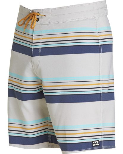 2 Sundays Stripe Pro Boardshorts Grey M124TBSS Billabong