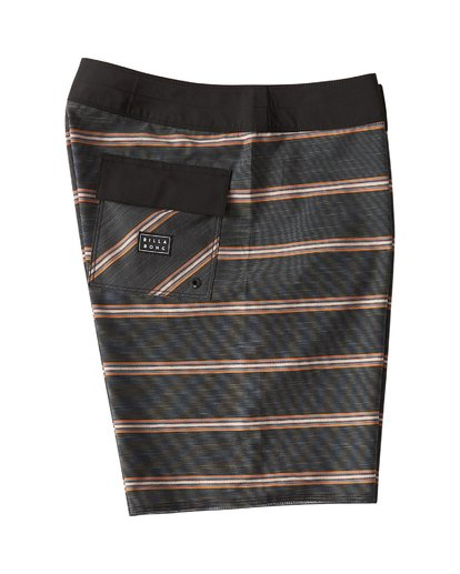 3 Sundays Stripe Pro Boardshorts Blue M124VBSV Billabong