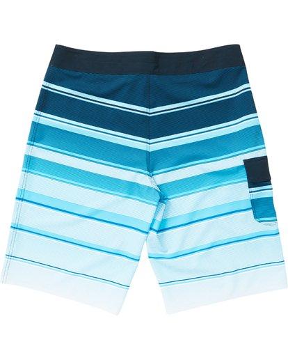 1 All Day X Stripe Boardshorts Blue M125NBAS Billabong