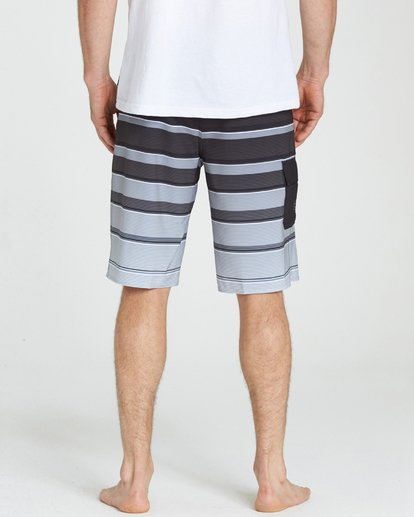 4 All Day X Stripe Boardshorts  M125NBAS Billabong