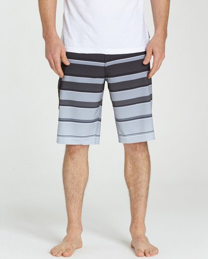 3 All Day X Stripe Boardshorts  M125NBAS Billabong