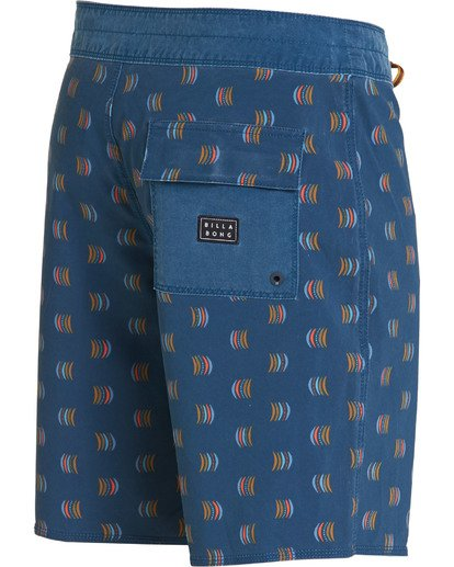 3 Sundays Mini Pro Boardshorts Blue M125TBSM Billabong