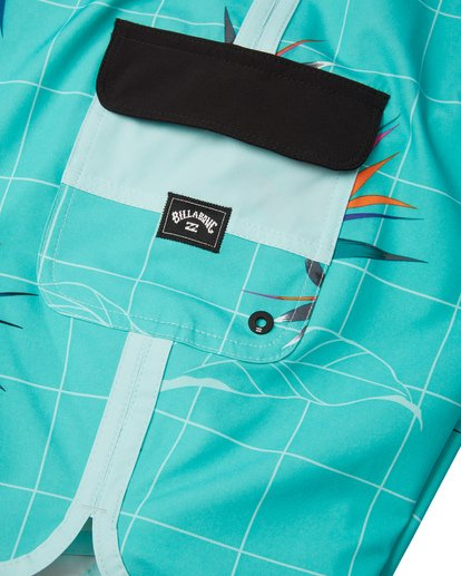 6 73 Line Up Pro Boardshorts Blue M1261BSL Billabong