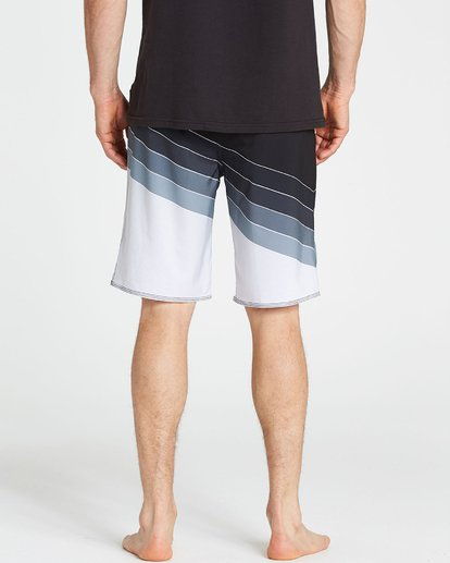 4 North Point X Boardshorts Grey M126NBNP Billabong