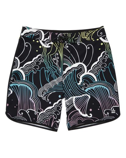 0 73 Line Up Pro Boardshorts Black M126TBSL Billabong