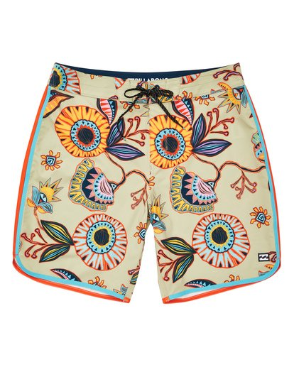 0 73 Line Up Pro Boardshorts Beige M126TBSL Billabong