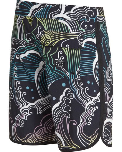 3 73 Line Up Pro Boardshorts Black M126TBSL Billabong