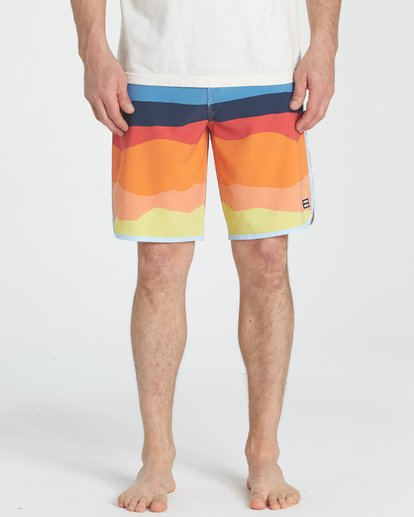 2 73 Line Up Pro Boardshorts Orange M126TBSL Billabong