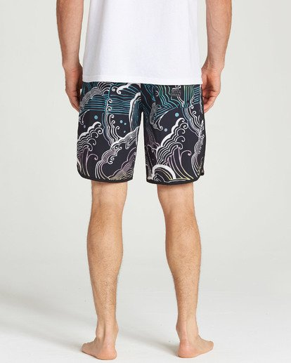 5 73 Line Up Pro Boardshorts Black M126TBSL Billabong