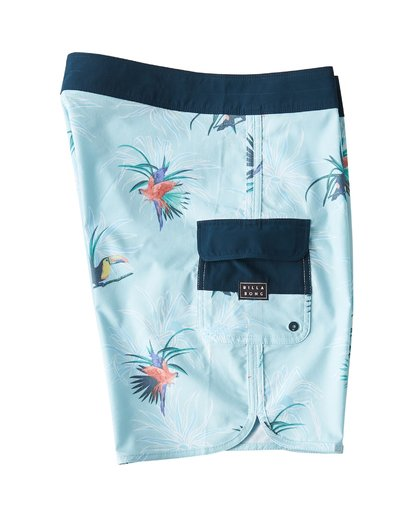 3 73 Line Up Pro Boardshorts Blue M126VBSL Billabong