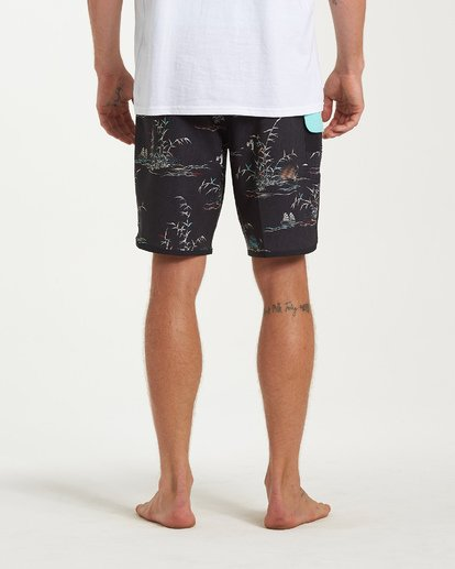 9 73 Line Up Pro Boardshorts Black M126VBSL Billabong