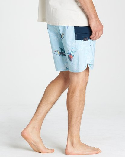 8 73 Line Up Pro Boardshorts Blue M126VBSL Billabong