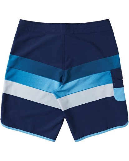 "3 73 Stripe Pro Boardshorts 20"" Blue M1271BST Billabong"