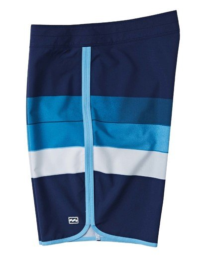 "4 73 Stripe Pro Boardshort 20"" Blue M1271BST Billabong"