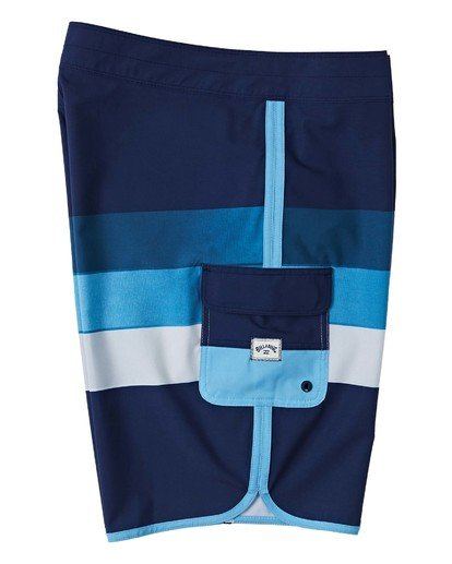 "5 73 Stripe Pro Boardshort 20"" Blue M1271BST Billabong"