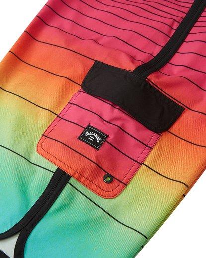 6 73 Stripe Pro Boardshorts Red M1271BST Billabong